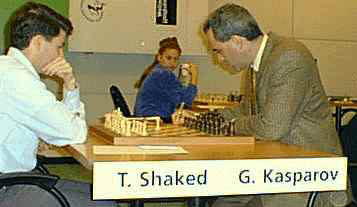 my game against Kasparov
